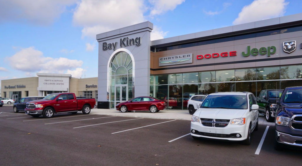 Accessibility at Bay King Chrysler