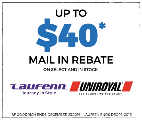 40$ Off Mail-In Rebate