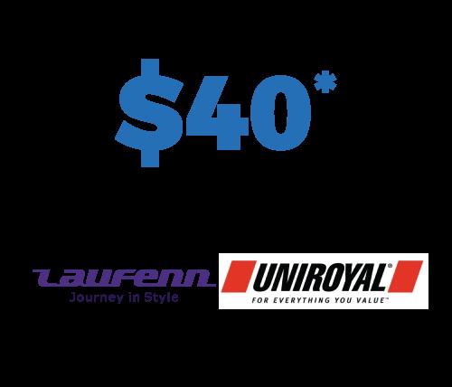 40$ Off Mail-In Rebate