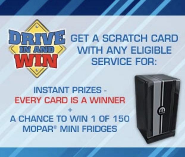 Drive in & Win!