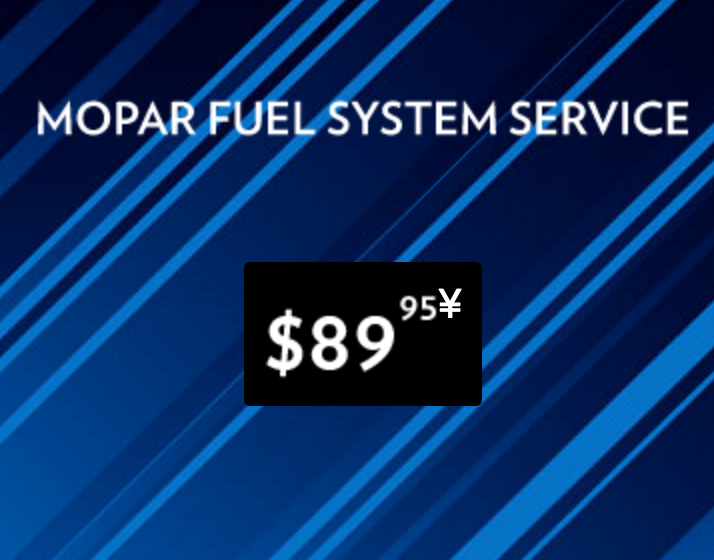 Mopar Fuel System Service